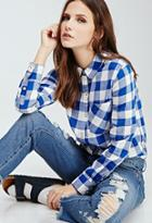 Forever21 Gingham Button-down Shirt