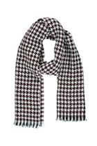 Forever21 Two-tone Houndstooth Scarf