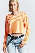 Forever21 Boxy Striped Tee