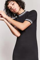 Forever21 Contrast Stripe Bodycon Dress