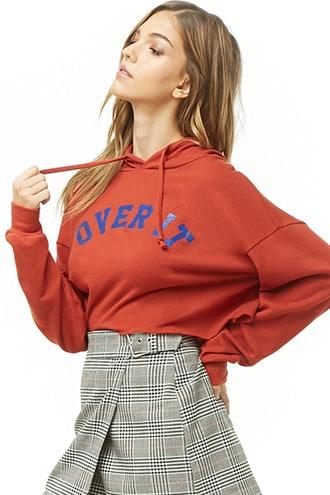 Forever21 Over It Graphic Hoodie