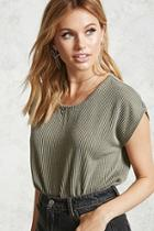 Forever21 Ribbed Billowy Tee