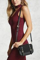 Forever21 Buckled Crossbody Bag