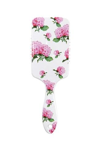 Forever21 Rectangle Floral Paddle Brush
