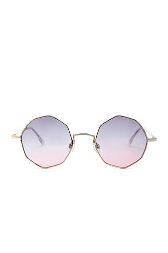 Forever21 Metal Rectangle Sunglasses