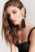Forever21 Fringe Art-deco Drop Earrings