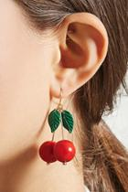 Forever21 Cherry Drop Earrings
