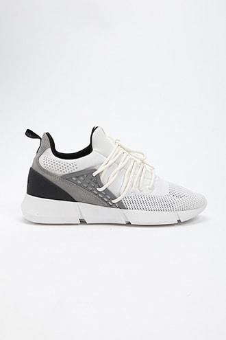 Forever21 Men Cortica Knit Low-top Sneakers