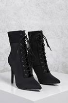 Forever21 Pointed Toe Stiletto Boots