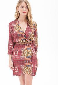 Forever21 Western-inspired Surplice Dress