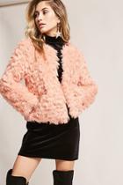 Forever21 Shaci Boxy Faux Fur Jacket