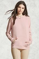 Forever21 Boxy Hooded Top