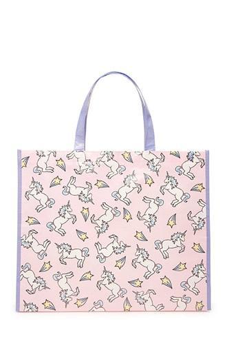 Forever21 Unicorn Graphic Eco Tote