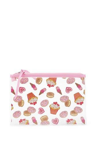 Forever21 Cupcake Print Makeup Bag