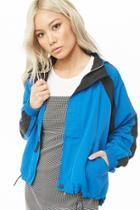 Forever21 Nylon Colorblock Jacket
