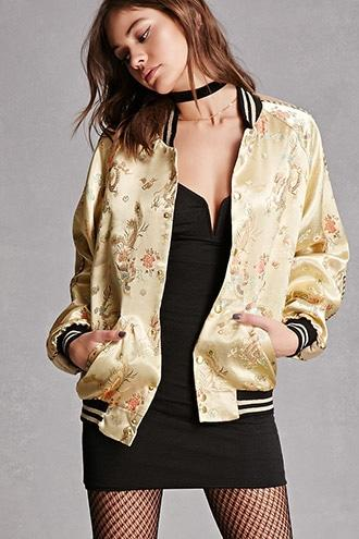 Forever21 Jaded London Embroidered Jacket