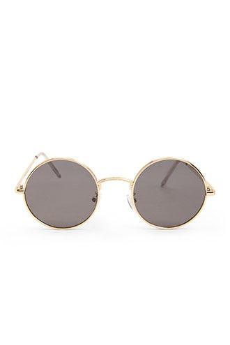 Forever21 Premium Round Metal Sunglasses