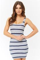 Forever21 Striped Bodycon Tank Dress