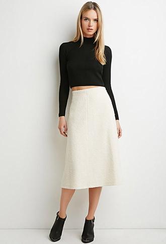 Love21 A-line Midi Skirt