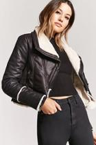 Forever21 Pebbled Faux Leather Jacket
