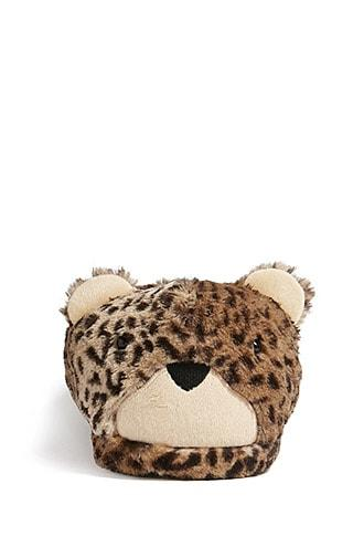 Forever21 Cheetah Indoor Slippers