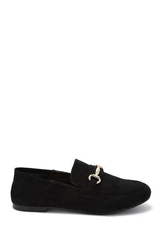 Forever21 Collapsible Heel Loafers