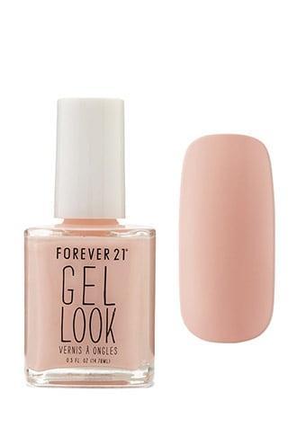 Forever21 Coral Gel Look Nail Polish