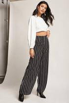 Forever21 Pinstripe Palazzo Pants