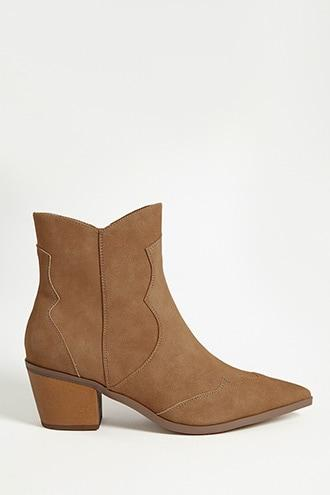 Forever21 Faux Suede Boots