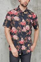 Forever21 Floral Print Shirt