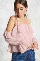 Forever21 Contemporary Chiffon Top