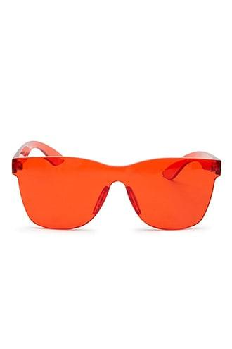 Forever21 Frameless Shield Sunglasses