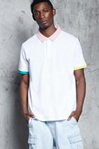 Forever21 Contrast Trim Polo Shirt