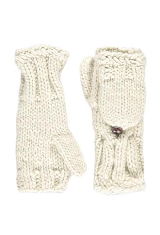 Forever21 Cable Knit Convertible Gloves