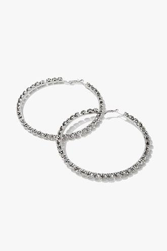 Forever21 Statement Hoop Earrings