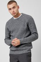 Forever21 Marled Waffle Knit Sweater