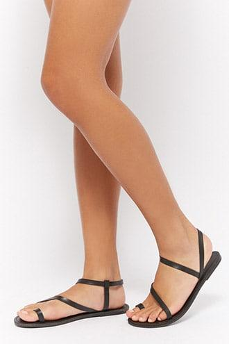 Forever21 Braided Strappy Sandals