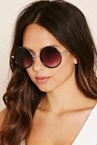 Forever21 Round Gradient Sunglasses