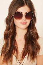 Forever21 Metal Visor Sunglasses