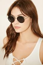 Forever21 Brow Bar Round Sunglasses