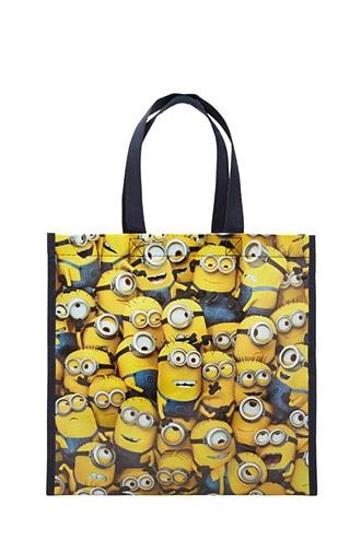 Forever21 Glossy Minion Eco Tote