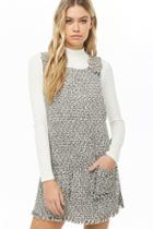 Forever21 Tweed Pinafore Dress
