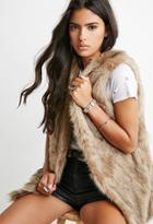 Forever21 Faux Fur Vest