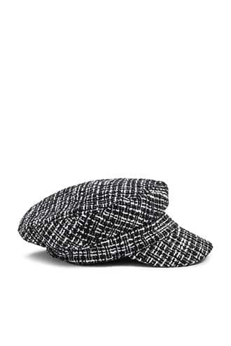 Forever21 Tweed Cabby Hat