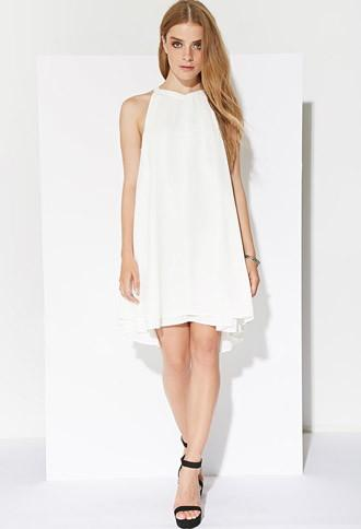 Forever21 Women's  Ministry Of Style Astronomic Dress (ivory)