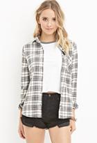 Forever21 Cotton-blend Plaid Shirt