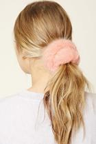Forever21 Faux Fur Hair Scrunchie