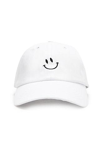 Forever21 Smiling Face Graphic Dad Cap