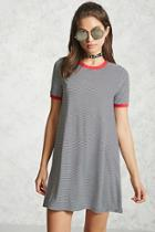 Forever21 Striped Ringer Tee Dress