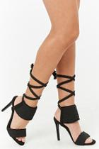 Forever21 Privileged Shoes Lace-up Heels
